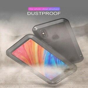 Image 3 - Metal Case For Xiaomi Mi Max 2 3 Armor Full Body Protective Cover  Shockproof Xiaomi Mi Mix 2 2s Case Xiaomi Mi Max3 Cases Mix2s