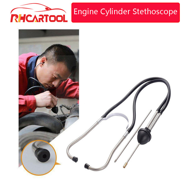 OBD2 New Car Stethoscope Auto Mechanics Engine Cylinder Stethoscope Hearing Tool Car Engine Tester Diagnostic Tool