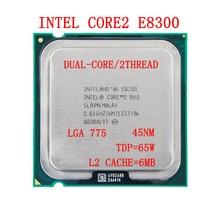 INTEL Core 2 Duo E8300 Socket LGA 775 CPU  (2.8Ghz/ 6M /1333GHz) Desktop Processor