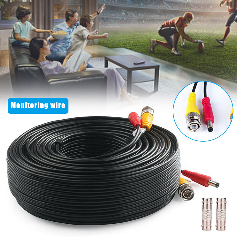 Power Video Security Camera Cable 150Ft BNC Extension Wire Cord For CCTV DVR NC99