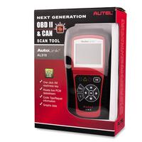 Original Autel AutoLink AL519 OBD II Update Online Car diagnostic Tools OBD Scanner