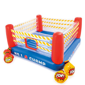 Bed-Toy Castle Trampoline Folding Inflatable Children's Indoor Bounce Jumping Household
