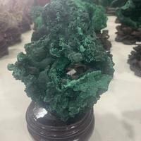 910g natural malachite original stone ornaments specimen stone ore collection malachite stone