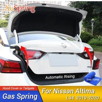 Car Rear Door Trunk Box Supporting Hydraulic Lift Rod Strut Spring Shock Bars Bracket 2Pcs/Set For Nissan Altima L34 2019 2020