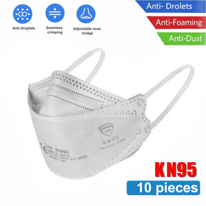 Protection-Products Face-Covers Korean Anti-Dust Non-Woven Reusable 6-Layers 10pcs Thickened