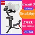 Zhiyun WEEBILL лаборатории, WEEBILL S 3-осевой стабилизатор для sony Panasonic GH5s беззеркальных Камера портативный монопод с шарнирным замком с фокусом Управ...