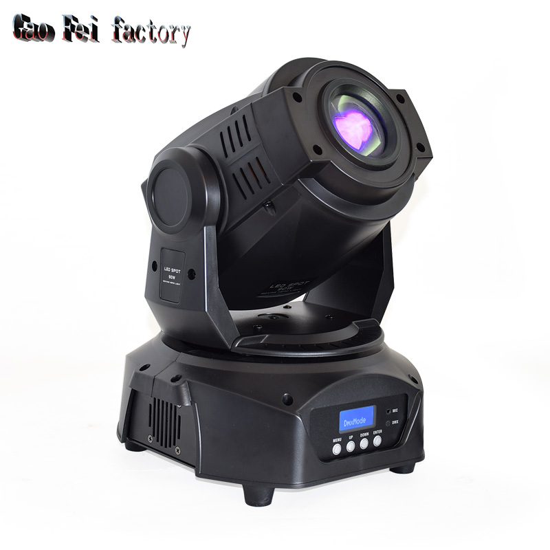 Lyre 90W Led 6-Prism Spot Moving Head Stage Light DMX Control For Disco Wedding Party Dj