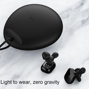 Image 3 - Baseus W02 auriculares TWS, inalámbricos por Bluetooth con micrófono, auriculares estéreo 4D de 60mAh con Control táctil inteligente, auténticos