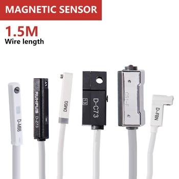 Magnetic switch Pneumatic proximity sensor AC DC 5-240V Reed 2 wire  D-A93 D-Z73 D-A73 D-A54 D-C73 CS1-J CS1-U CS1-F CS1-SC1-G