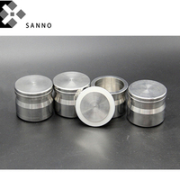 High hardness stainless steel grinding jaw high / low temperature resistance 50ml 1L wear resistance & acid alkaline resistant
