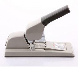 Japón MAX HD-12F engrapadora de uñas plana grapadora de alta resistencia importada grapadora de ahorro de mano de obra puede pedir 50 ~ 150 páginas