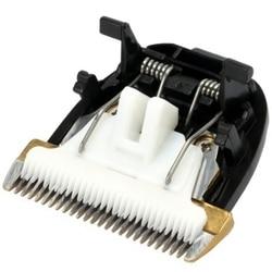 Profesjonalne nożyczki do sierści elektryczna maszynka do strzyżenia włosów trymer psy maszyna do cięcia ceramiczny nóż tytanowy do RFCD 9100 9600|Akcesoria do urządzeń do pielęgnacji osobistej|AGD -