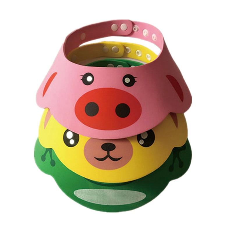 Einstellbare Baby Dusche Hut Kleinkind Kinder Shampoo Bade Dusche Kappe Waschen Haar Schild Direkt Visier Caps für Baby Pflege