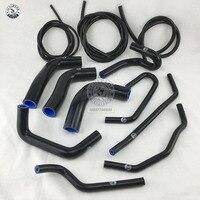 Silicone Radiator Hose Kit For MAZDA MIATA MX5 1.8L 94 97 + Vacuum HOSE KIT red/blue/black