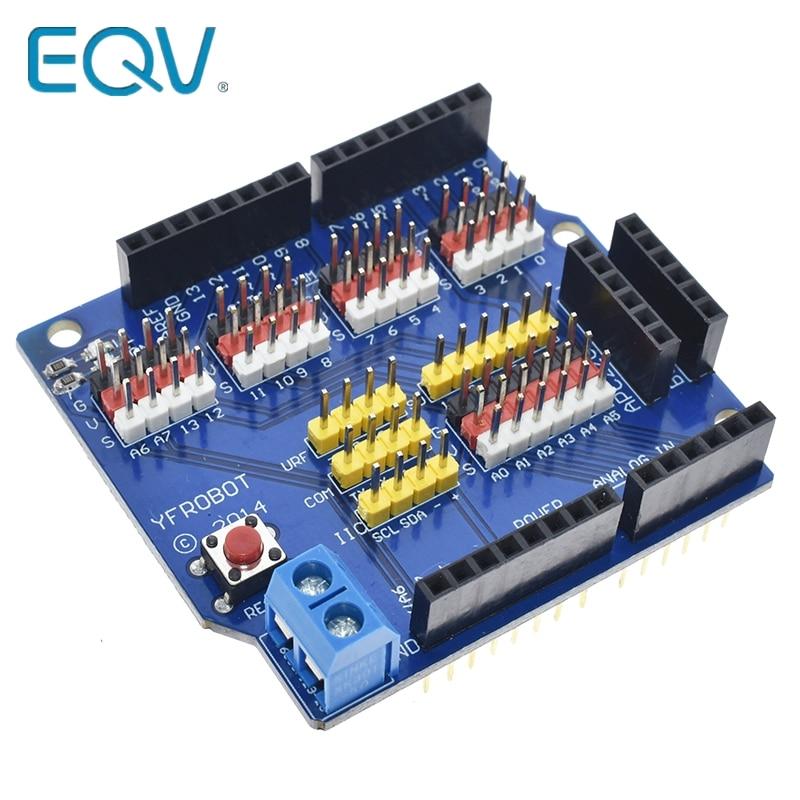 Sensor Shield Expansion Board Shield UNO R3 V5.0 Electric Module New uno r3