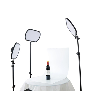 непрерывное освещение фотография   Yidoblo PD-920II двухцветная ультра тонкий непрерывное супер тонкий кожаный чехол с легкие мягкие освещение светодиодный фон для фотосъемки освещ...