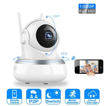 1080P 720P Wireless IP Camera Two Way Audio Mini Cloud Home Security Smart IP Camera Night Vision CCTV WiFi Camera Baby Monitor