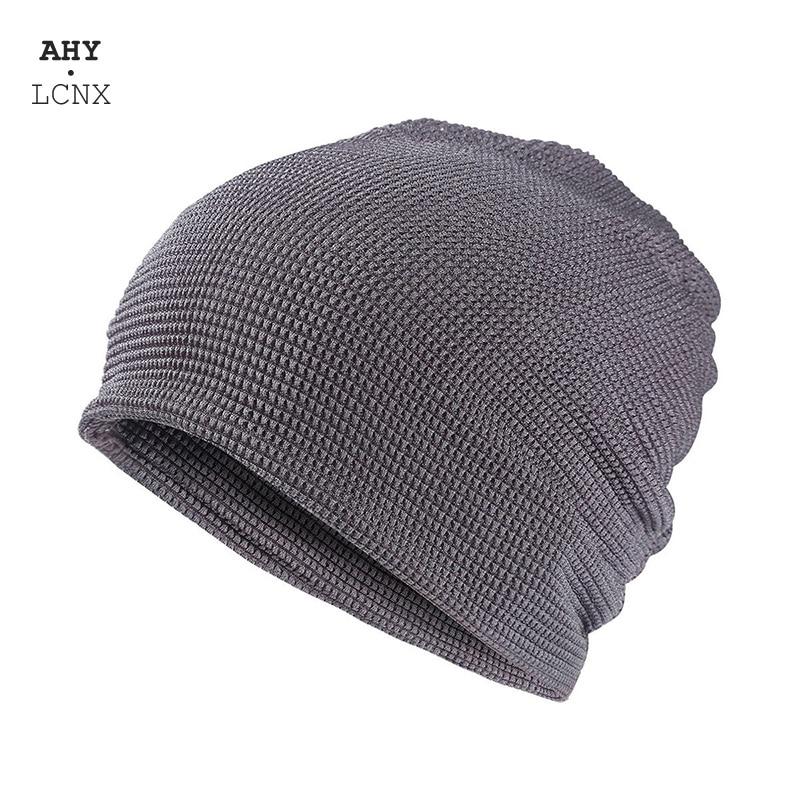 Летние дышащие тюрбан шапка классная чулок полые шапки для мужчин и женщин вязаная Лыжная Шапка Bagyy Кепки маска шарф 2 в 1 головные уборы