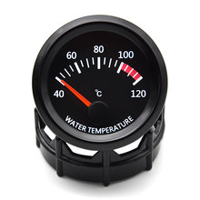 52MM Gauge Vehicle-Meter Water-Temperature-Gauge Celsius for Car Truck 40--120/Celsius/Centigrade/Temperature