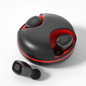 Image 2 - Écouteurs sans fil Bluetooth 5.0 TWS, oreillettes de sport, casque de jeu, étanches, avec boîte de chargement