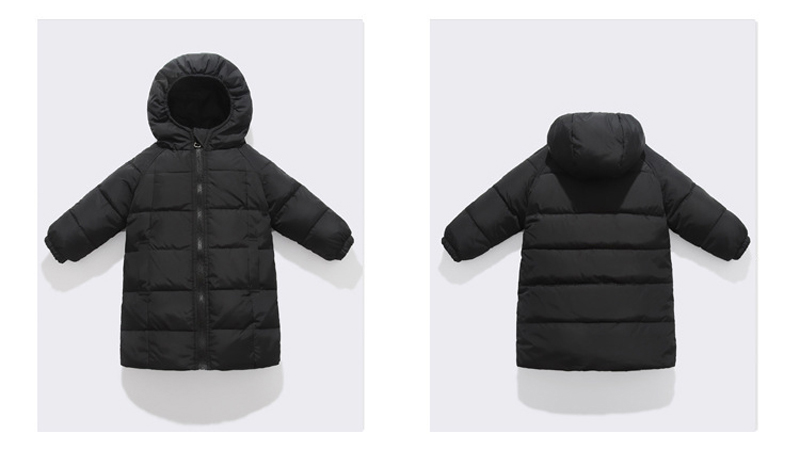 baixo meados de comprimento engrossar casaco para