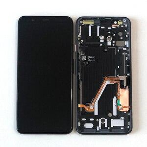 """Image 1 - 6.3 """"Ban Đầu Supor AMOLED M & Sen Cho Google Pixel 4 XL Màn Hình LCD + Bảng Điều Khiển Cảm Ứng Bộ Số Hóa khung Cho Google Pixel 4XL"""