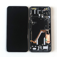 "6.3 ""originale Supor Amoled M & Sen Per Google Pixel 4 XL Schermo LCD Display + Touch Panel Digitizer telaio Per Google Pixel 4XL"