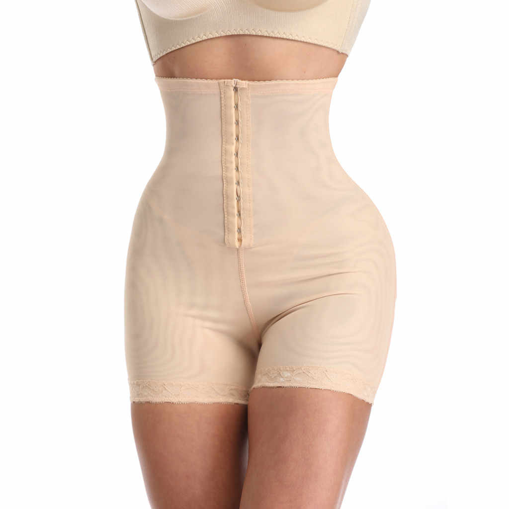 Женское Бесшовное корсетное белье для коррекции живота контроль бедра стройнее Высокая талия утягивающее белье для тела моделирующее белье