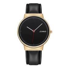 Reloj Mujer Fashion Casual Simple Wrist Watch for Women Stylish Ladies Gold Leather Quartz Watches Female Clock Zegarek Damski