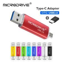 USB 3,0 и USB2.0 OTG USB флеш-накопитель 16 ГБ 32 ГБ 64 ГБ 128 ГБ флеш-накопители Type C флеш-накопители micro USB палка для смартфона