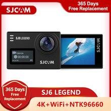 Оригинальная Экшн-камера SJCAM SJ6 Legend 4K Wifi 30 м Водонепроницаемая 1080P Ultra HD 2