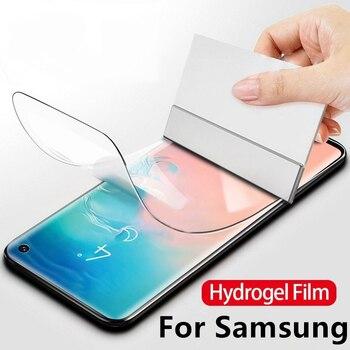 Pieno Idrogel Pellicola Per Samsung A50 A80 A60 Pellicola Della Protezione Dello Schermo Per Samsung Galaxy S10 S9 Più Nota 10 Pro 9 8 S7 Bordo S10 Lite