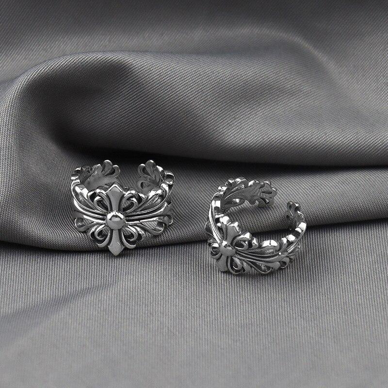 Творческие Кольца MrZMsZ в форме Креста для женщин минималистичные ювелирные изделия 2021 модное открытое регулируемое кольцо для влюбленных а...