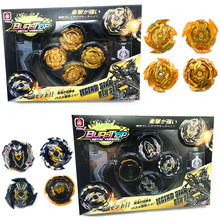 4pcs/set Beyblade Burst Toys Beyblade Launcher And Arena Bables Metal Fusion Spinning Top Bey Blade Blades Toy Bayblade  - buy with discount