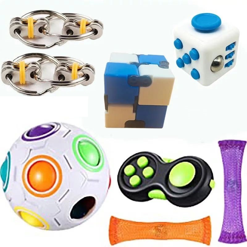 Sensory-Toy-Set Relief-Toys Fidget Anxiety Adults Autism Stress Pop for Kids 23pcs-Pack img2