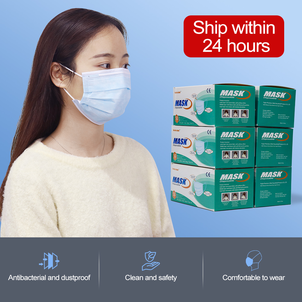 Masks Mouth Dust Infection Masks Anti-fog Mask 3 Layers