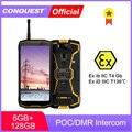 CONQUEST S12 Pro ATEX POC/DMR Walkie Talkie ATEX Phone IP68 Waterproof Smartphones Rugged Smartphone Cell Phone Mobile Phones