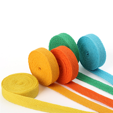 20Meters colourful 10mm chevron 100% cotton ribbon webbing herring bonebinding tape lace trimming for packing accessories DIY