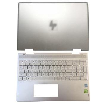 Original NEW For HP ENVY X360 15-BP 15M-BP Series Laptop LCD Back Cover/Palmrest Upper Case 924344-001 934640-001 4600BX0G000 95%new for hp pavilion 15 au 15 aw 15 al tpn q172 tpn q175 laptop palmrest upper case us keyboard touchpad 856040 001 eag3400409