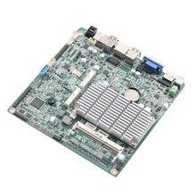 Mini-ITX mini материнская плата 17*17 см Встроенная celeron J1900 1 * DDR3 240 Разъем/6 * USB2.0 /6 * COM /1 * mSATA