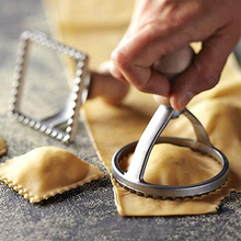 1Pcs Five Style Edge Biscuit Mould Baking Utensil For Pastry, Dumpling, Skin, Cake Mould Cutter Kitchen Supplies
