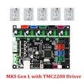 MKS Gen L V2.0 3D บอร์ดควบคุมเครื่องพิมพ์เข้ากันได้กับ Ramps1.4/Mega2560 DRV8825/LV8729/TMC2208/TMC2209 /TMC2130 ไดรเวอร์