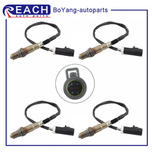 lambda o2 sensor downstream paer for 2000 06 jaguar xk xk8 coupe convertible 4 2l 99 05 jaguar vanden sedan no 234 4735 234 4798 4 Wires O2 Oxygen Sensor Lambda Upstream Front Downstream for 2004-2008 Ford F-150 4.6L 5.4L 4.2L 234-4401 Car Replacement Parts