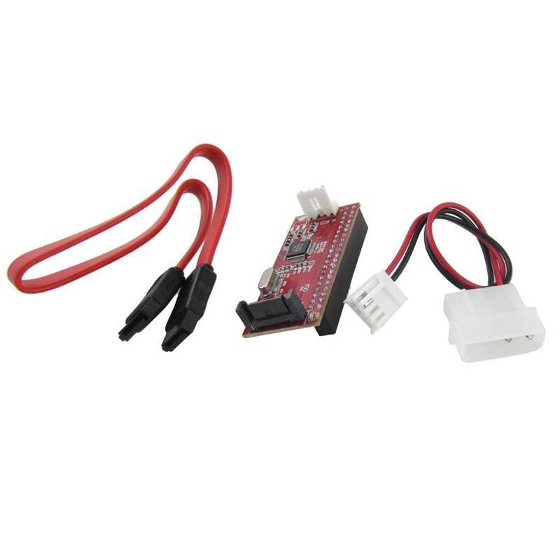 Компьютер 40 контактов IDE до 7 SATA адаптер конвертер w кабель