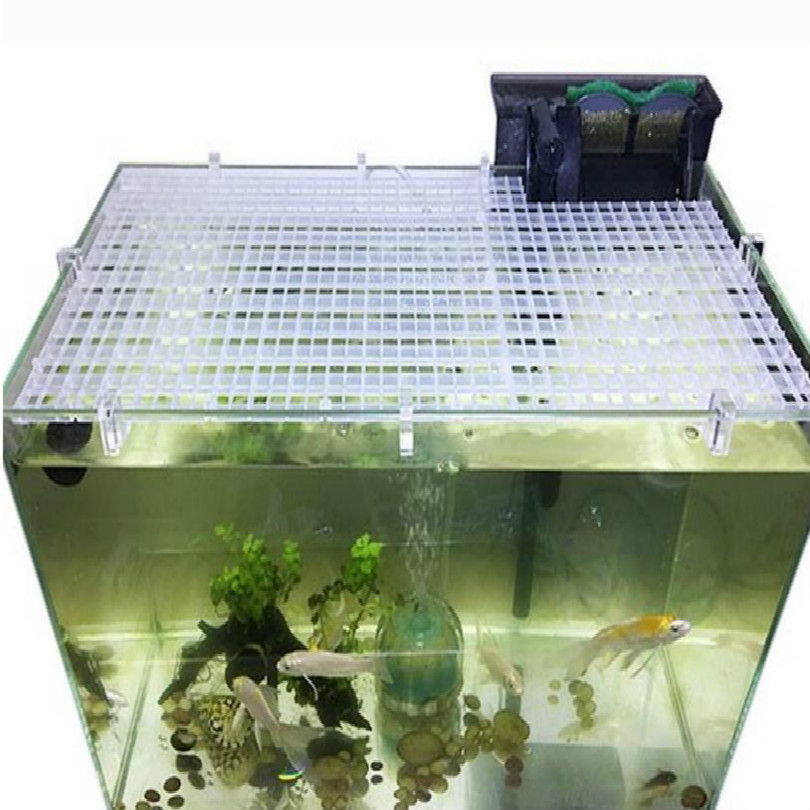 30*30cm Fish Tank Cover Aquarium Cover Aquarium Fish Tank Acrylic Clips Glass Cover Support Holders