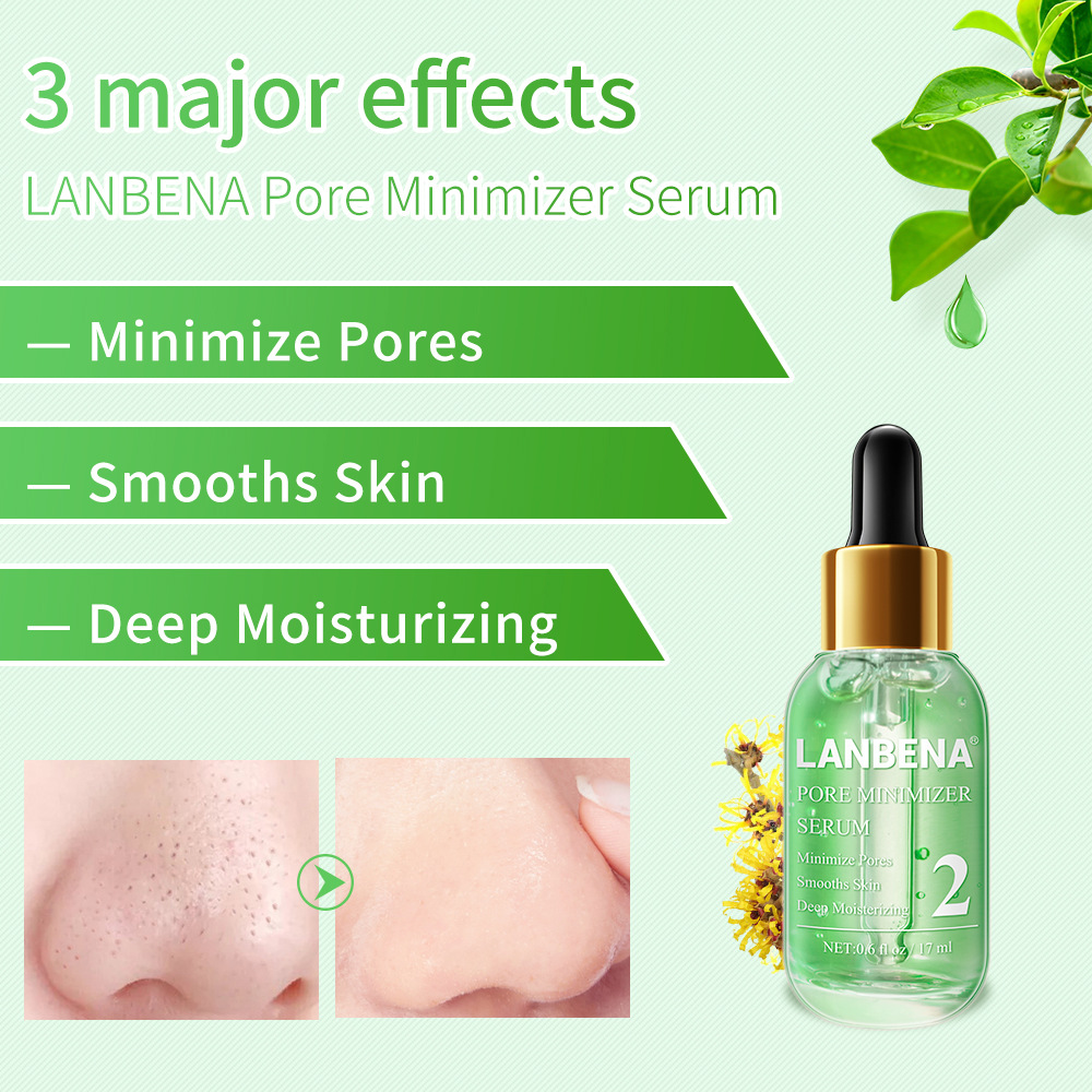 Blackhead Remover Shrinking Pore Acne Treatment Deep Cleaning Smoothing Beauty Skin Care Firming Moisturizing Essence Serum in Serum from Beauty Health