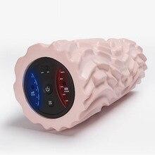 Электрический Йога колонна пены вал мышцы расслабить Stovepipe вибрационный массаж болеутоляющее роликовое YS-BUY