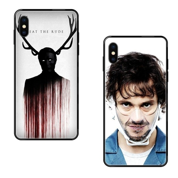 Cool Graham Hannibal Mads Mikkelsen Luxury Quality Black Soft TPU Phone Case Best Price For Xiaomi Redmi 3S 4X 4A 5 5A 6 6A 7 image
