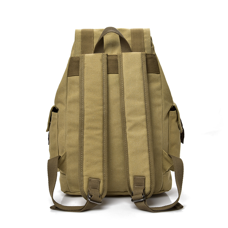 Image 2 - DIDABEAR Canvas Backpack Men Backpacks Large Male Mochilas Feminina Casual Schoolbag For Boys High Quality-in Backpacks from Luggage & Bags