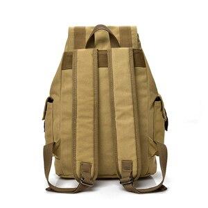 Image 2 - DIDABEAR płótno plecak mężczyźni plecaki duża mężczyzna Mochilas Feminina na co dzień tornister dla chłopców wysokiej jakości